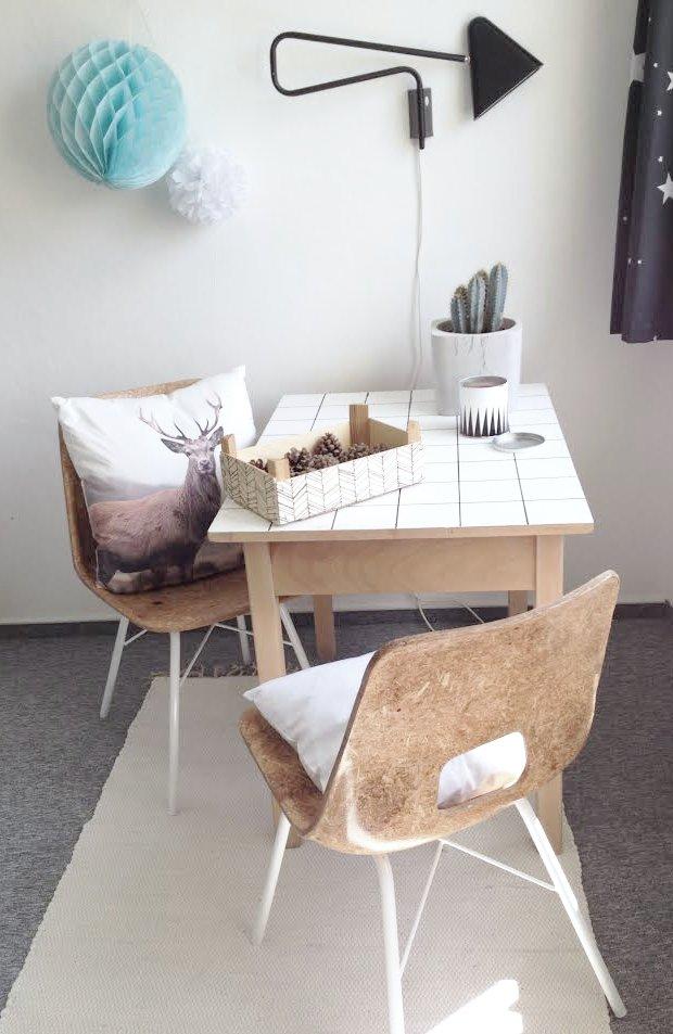 Renovace starých TON židlí do skandinávského stylu