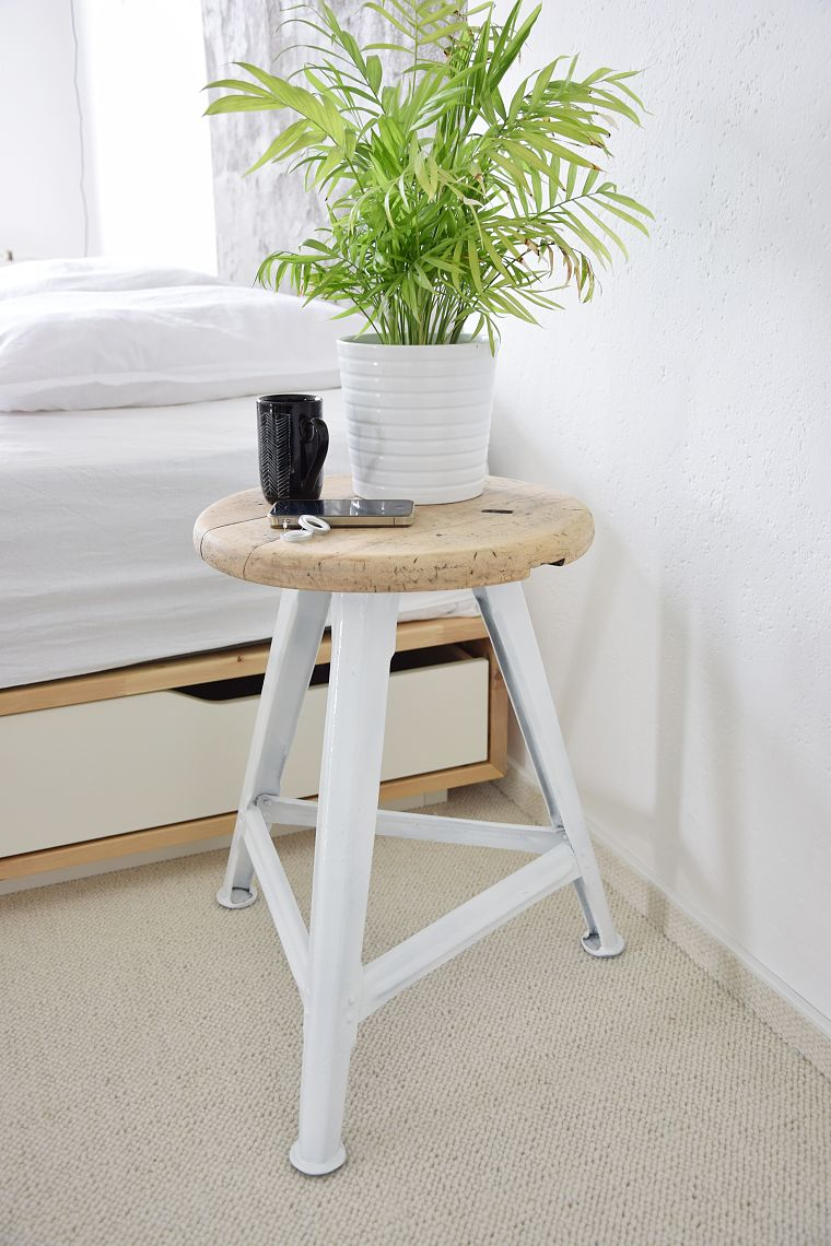 DIY renovace průmyslové stoličky