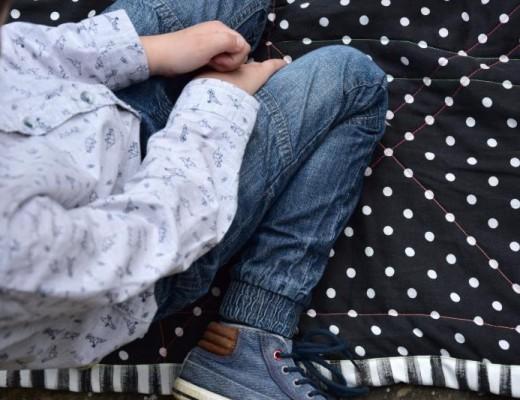 DIY prošívaná deka na koupák nebo na piknik