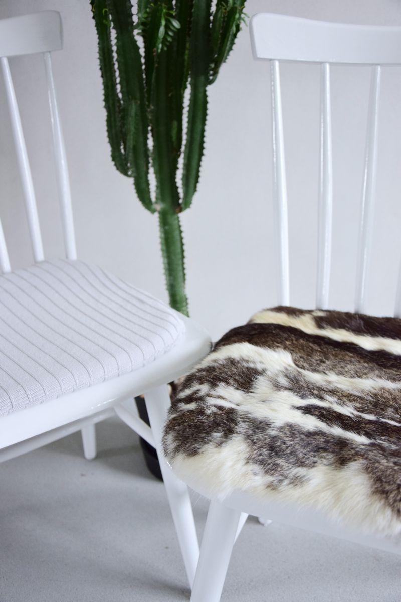 DIY podprdelníčky ze svetru a kožešiny