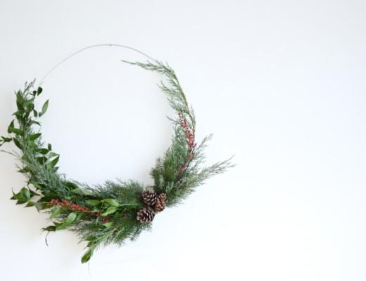 DIY adventní věnce a svícny