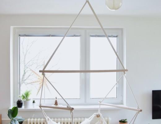 Jak pověsit závěsné houpací křeslo - chemická kotva do stropu