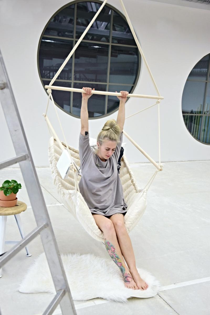 Závěsné houpací křeslo CHILLO