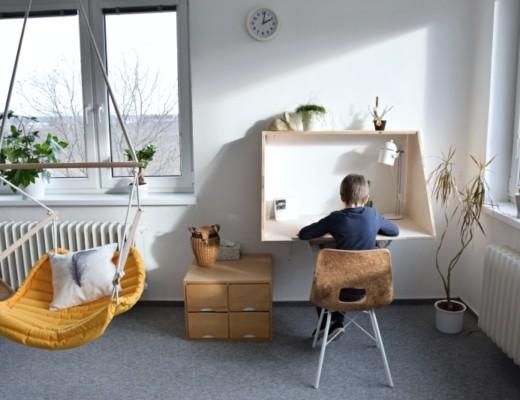 seriál: Dětský pokojík – psací stůl