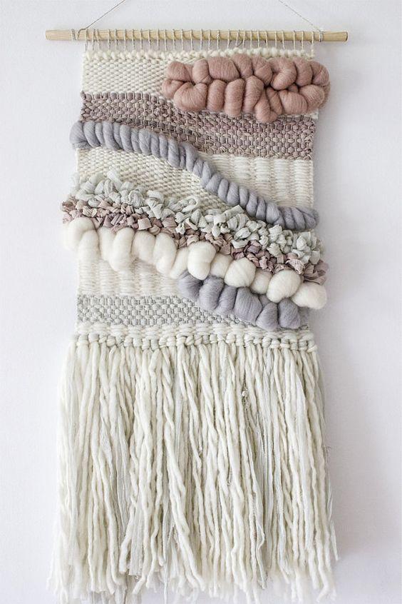 tkalcovský stav - inspirace tkaní