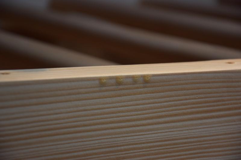 Dřevěné žebřiny v interiéru