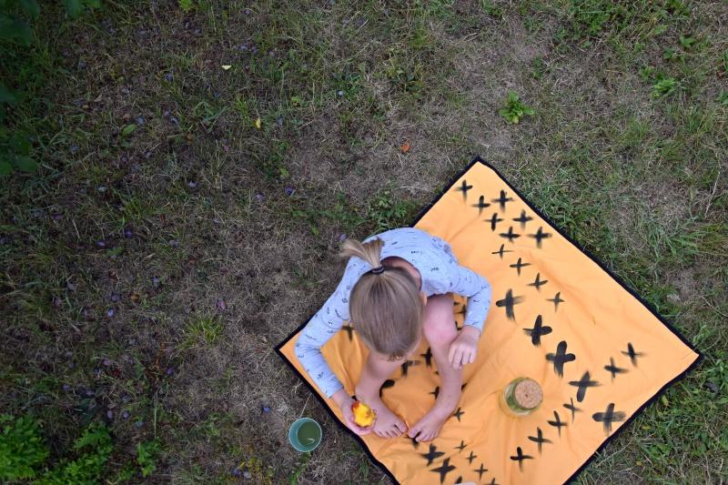 DIY recy deka na koupák nebo piknik