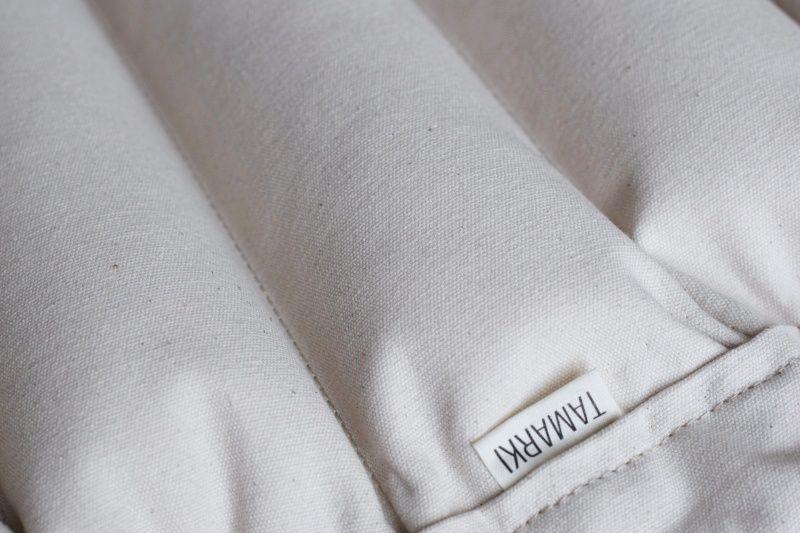 bavlna nebarvená - krémová (režná)